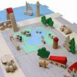 遊びながら空間デザイン力を育てる木育玩具の開発